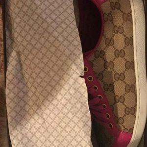 3fd1ef33 Women Pink Gucci Sneakers on Poshmark